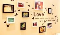 Bộ Khung Ảnh Trái Tim Love 12