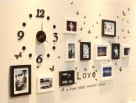 Bộ Khung Ảnh Đồng Hồ Clock 12