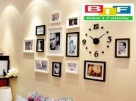 Bộ Khung Ảnh Đồng Hồ Clock 07