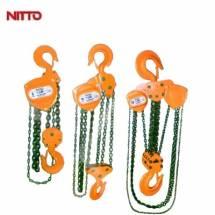 Pa lăng xích kéo tay  Nitto 2 tấn 5 mét