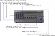 Hướng dẫn sử dụng âm ly VM 2000-Toa