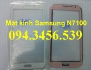 thay mặt kính samsung Note 2 N7100