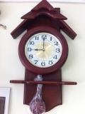 đồng hồ kana vỏ gỗ KN666