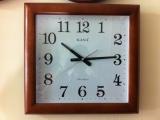 đồng hồ treo tường kana gỗ 04