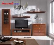 Tủ trang trí phòng khách gỗ công nghiệp TPK003