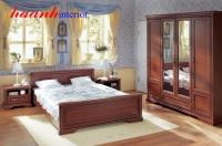 Bộ nội thất phòng ngủ hiện đại BPN003