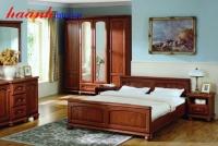 Bộ nội thất phòng ngủ hiện đại BPN004