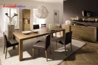 Bàn ghế ăn gỗ tự nhiên BGA001