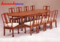 Bàn ghế ăn gỗ tự nhiên BGC002