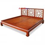 Giường gỗ hương GIC001