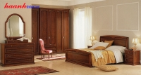 Mẫu phòng ngủ gỗ gụ tự nhiên BPC004