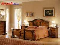 Giường gỗ gụ tân cổ điển GIC002