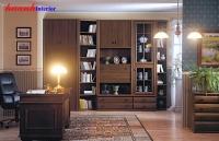 Phòng làm việc gỗ tự nhiên  PLV001