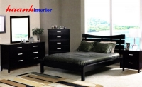 Bộ nội thất phòng ngủ gỗ laminate GNH004
