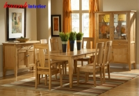 Bộ phòng bếp gỗ tự nhiên sồi BGA005