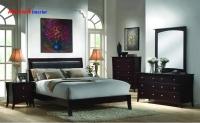 Giường ngủ gỗ tự nhiên GNH005
