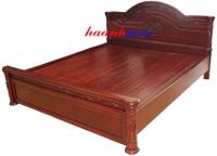 Giường gỗ gụ tự nhiên GIC007