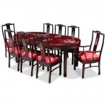 Bàn ghế ăn khảm BGC005