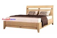 Giường ngủ gỗ sồi tự nhiên GNH008