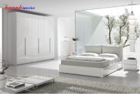 Bộ nội thất phòng ngủ gỗ công nghiệp ACRYLIC BPN009