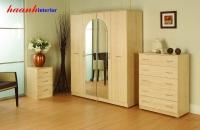 Tủ quần áo gỗ sồi tự nhiên TAH006