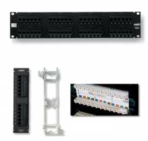 AMP Category 5e Patch Panel, Unshielded, 24-P