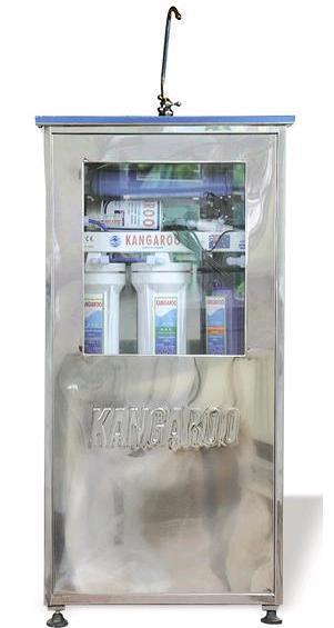 Kangaroo KG104 (7 lõi lọc, Vỏ inox nhiễm từ)