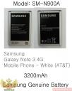 Pin xịn chính hãng galaxy Note 3 N9000, N900A
