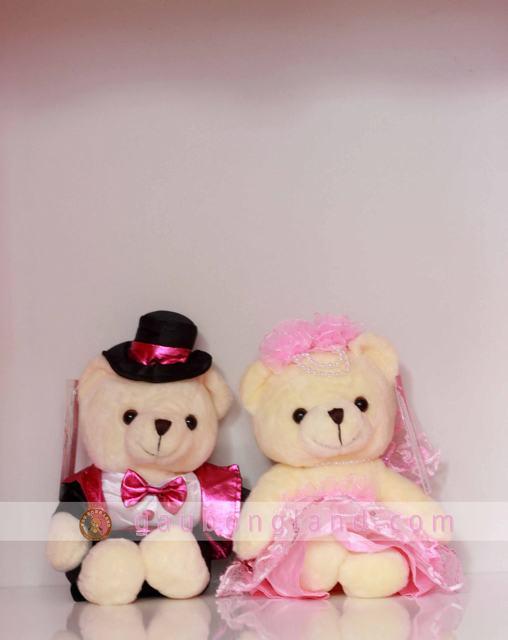 Gấu bông đôi cô dâu chú rể
