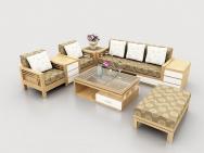 Sofa gỗ 01