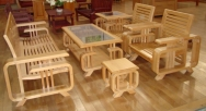 Sofa gỗ 04