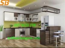 Tủ bếp laminete 37