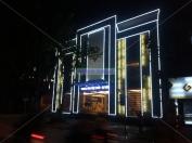 Trang trí Led tòa nhà Diamon tại Hoàng Quốc Việt