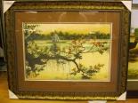 Hồ Gươm Cành Ngang Vàng (35x50-57x71)
