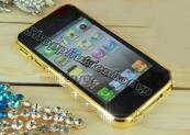 Ốp viền đính đá Swarovski cho iPhone 4 4s