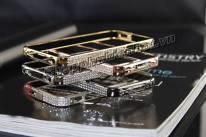 Ốp viền đính đá Swarovski cho iPhone 5 5s