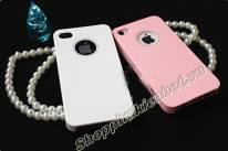 Ốp lưng Wynit đính đá tròn cho iPhone 4 4s