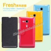 Bao-da-Fresh-Sony-Xperia-SP-M35h-Hieu-Nillkin