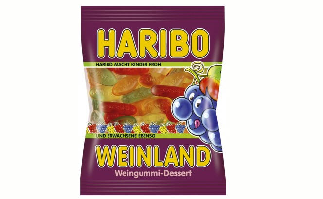 Kẹo dẻo Haribo - grape 200g