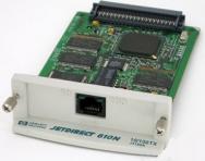 HP jet direct 610n ethernet 10/100