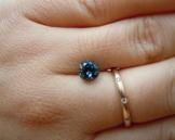 Đá Saphia Xanh - Blue Saphire 02