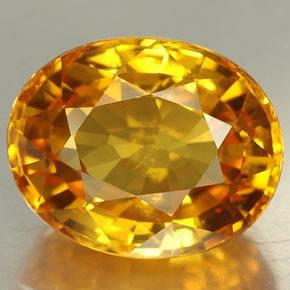 Đá Saphia Vàng - Yellow Saphire 01