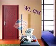 Cửa gỗ MDF phủ Veneer Wangli WL-088
