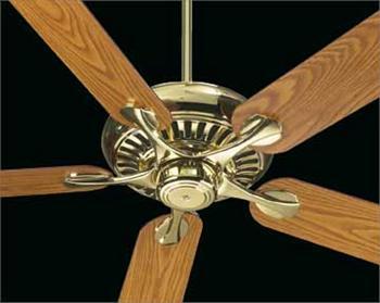Quạt trần cánh gỗ Quorum Các Pinnacle