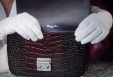 Dior - Quy trình làm 1 chiếc túi xách Dior