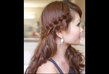 Tạo kiểu tóc đơn giản