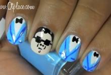 Gangnam Style Nail