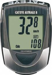 Đồng hồ xe đạp thể thao Cateye Astrale 8, do vòng tua chân