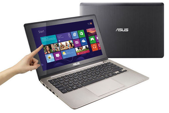 Asus VivoBook S400CA-DH51T (Intel Core i5-3317U 1.7GHz, 4GB RAM, 24GB SSD + 500GB HDD, VGA Intel HD Graphics 4000, 14.1