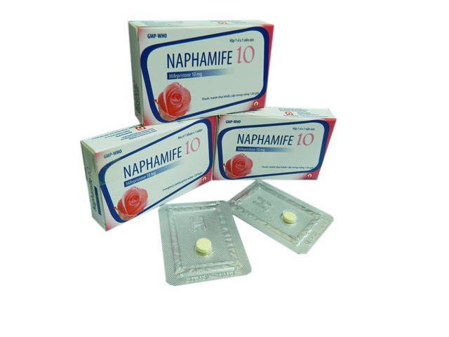 NAPHAMIFE - Thuốc ngừa thai khẩn cấp.